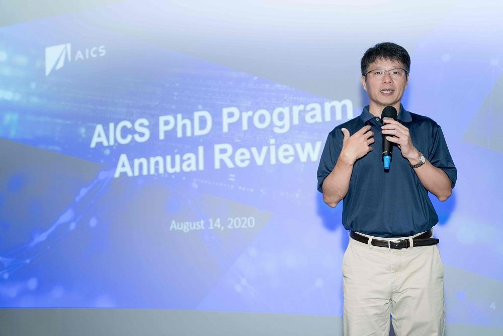 華碩全球副總裁暨 AICS 負責人黃泰一表示,盼以「華碩 AICS 博士生計畫」作為示範起點,從國家人才培育基本面,促進產學全新合作,打造融合學術研究與產品創新平台。