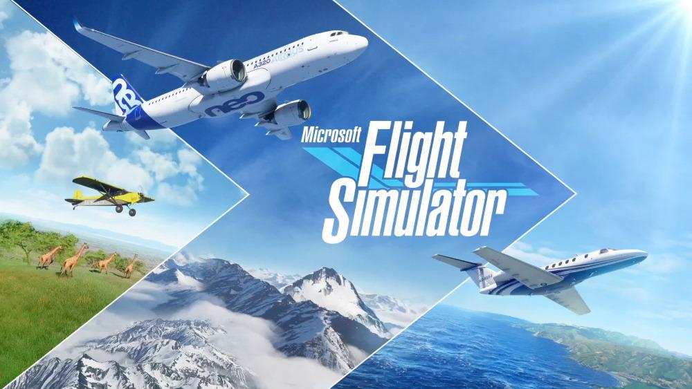 Microsoft Flight Simulator (微軟模擬飛行)。