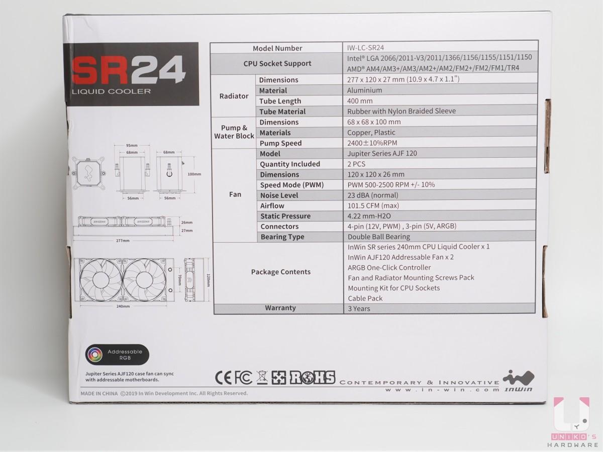 支援很多平台,Intel LGA 2066、2011-V3、2011、1366、1156、1155、1151、1150、1200, AMD AM4、AM3+、AM3、AM2+、AM2、FM2+、FM2、FM1、TR4。