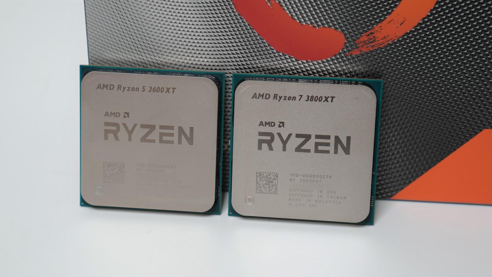 Refined Zen 2 Cpus Are Here Ryzen 7 3800xt Ryzen 5 3600xt Processor Review Uniko S Hardware 電腦電競周邊 輕開箱 評測 新聞