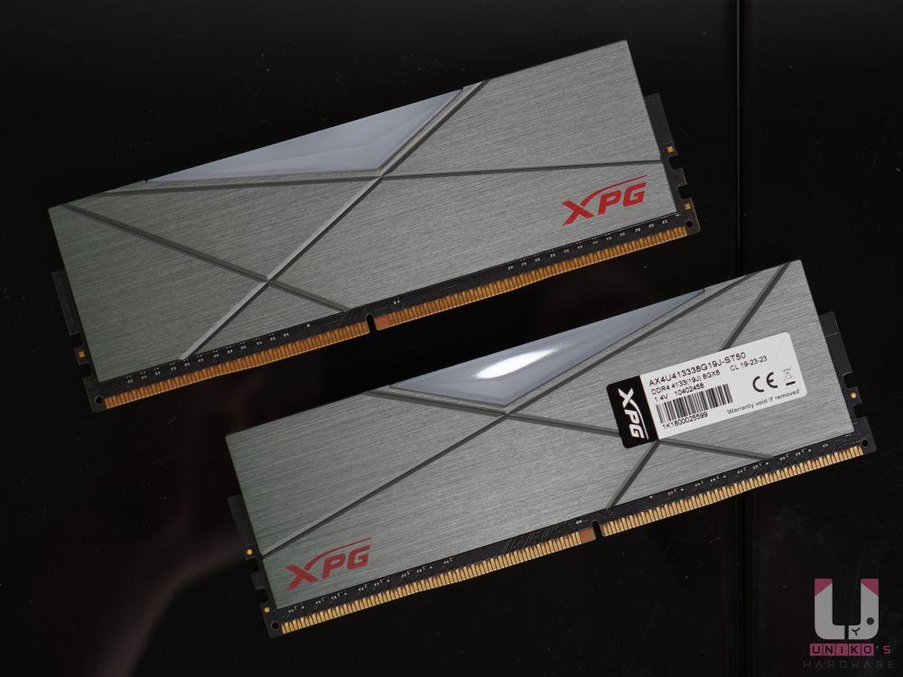 AX4U413338G19J-ST50,DDR4-4133,CL19-23-23,XMP 後 1.4V 電壓。