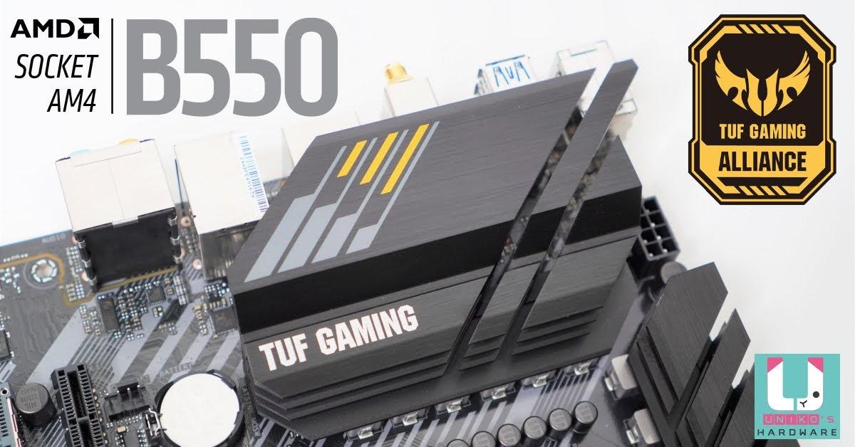 高性價比裝機神板, TUF GAMING B550M-PLUS Wi-Fi 主機板評測開箱。
