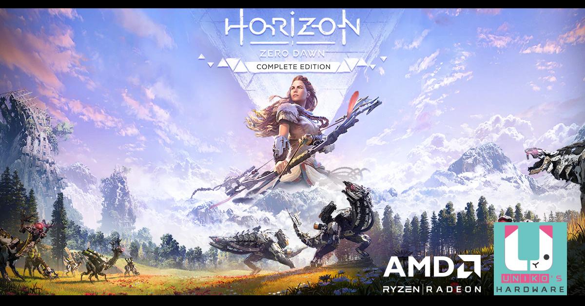 AMD Radeon 顯卡為<地平線:期待黎明>帶來絕佳效能