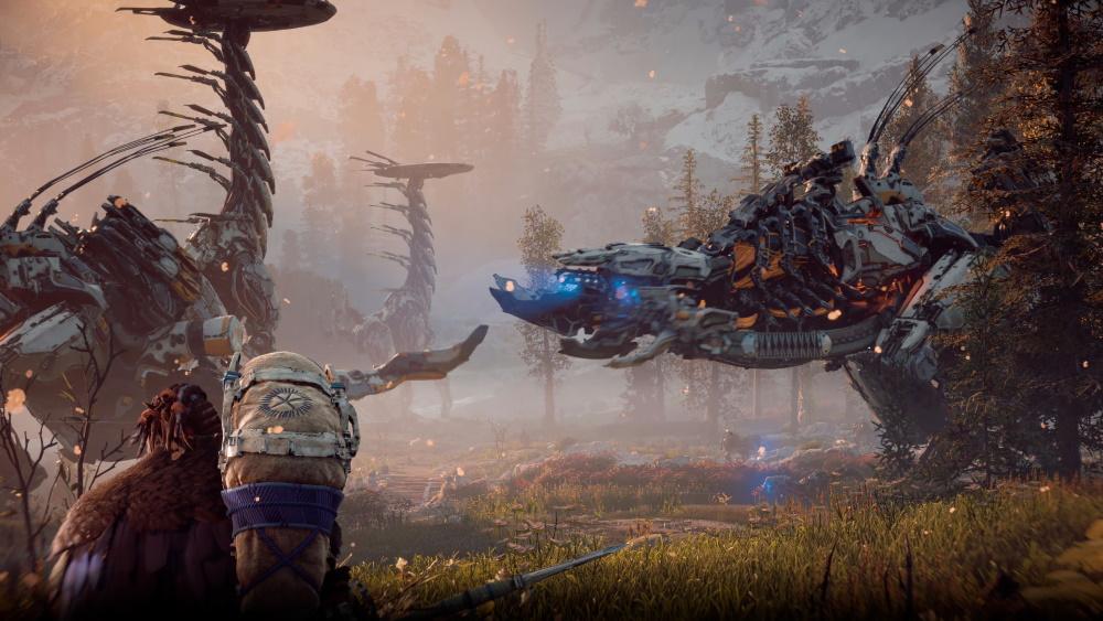 本遊戲主要的敵對目標:機械生物。