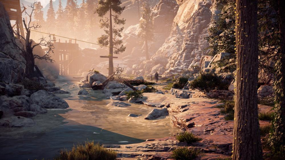 遊戲內風景。