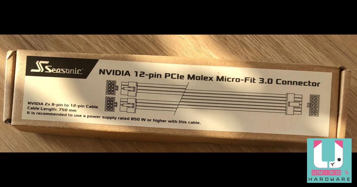 NVIDIA GeForce RTX 30 系列顯示卡 12 Pin 電源連接器?!