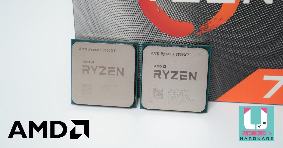 終極登場 R7 3800XT、R5 3600XT 優化製程頻率提升版處理器評測。