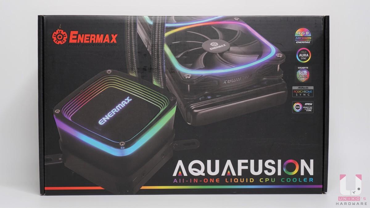 包裝正面強調支援各大板卡廠 RGB 連動控制。