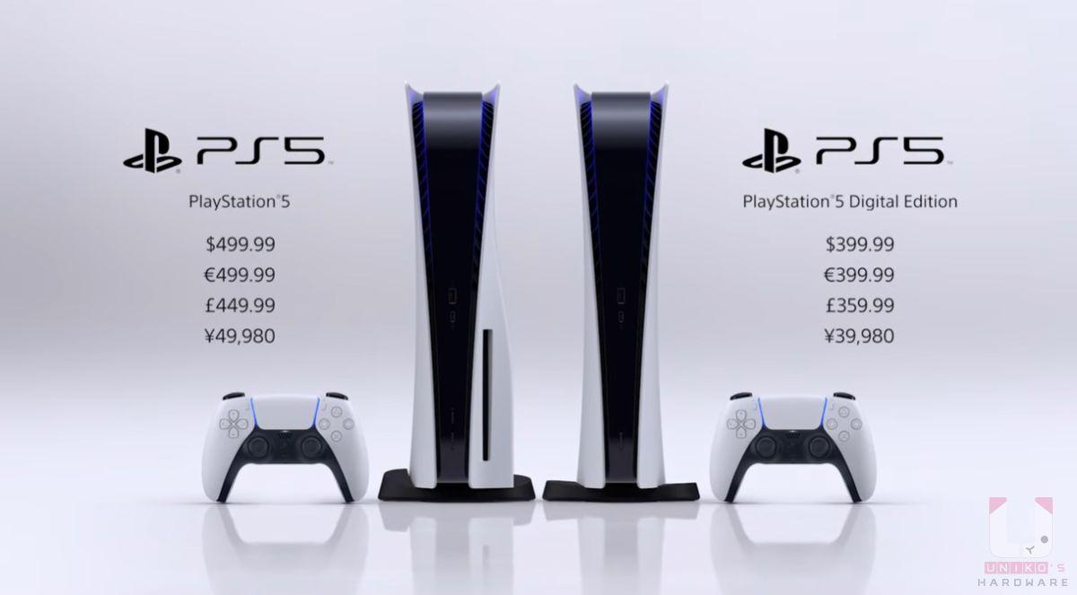 售價方面標準版是 USD$499.99 (日幣$ 49,980),數位版本無光碟機 USD$499.99 (日幣$ 39.980)