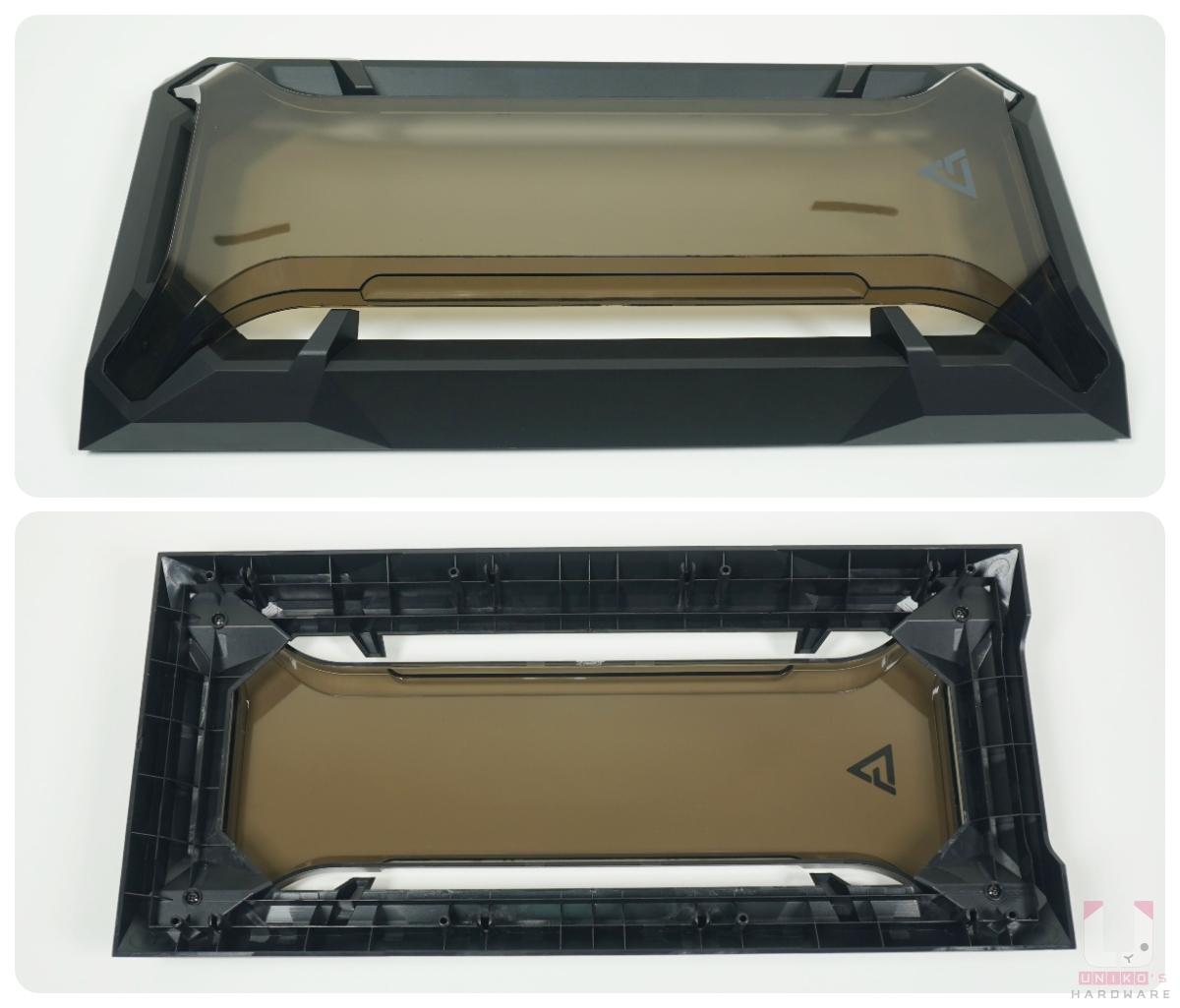 正面面板可以移除,利於安裝外側風扇。