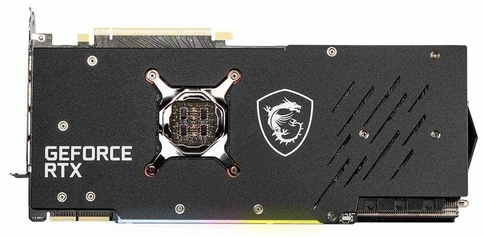 GeForce RTX 3090 GAMING TRIO series。