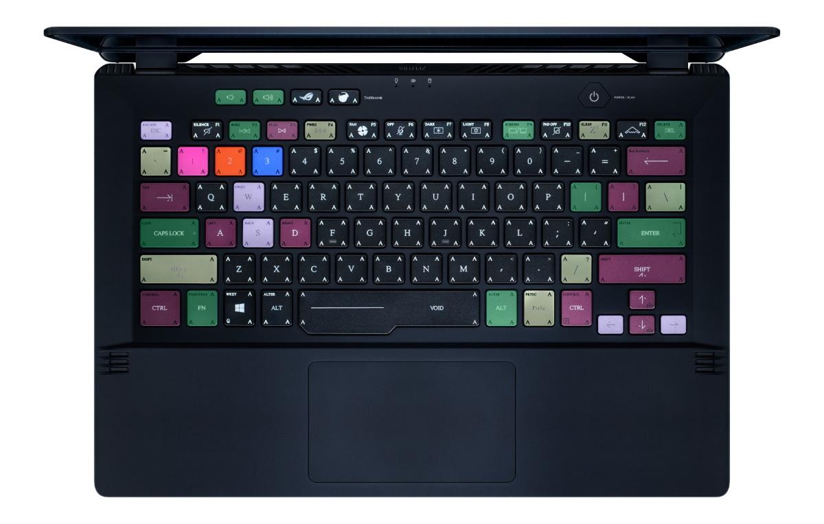 ACRONYM 創辦人 Errolson Hugh 與首席設計師 David Rudnick 親自操刀的 8 色鍵盤設計。