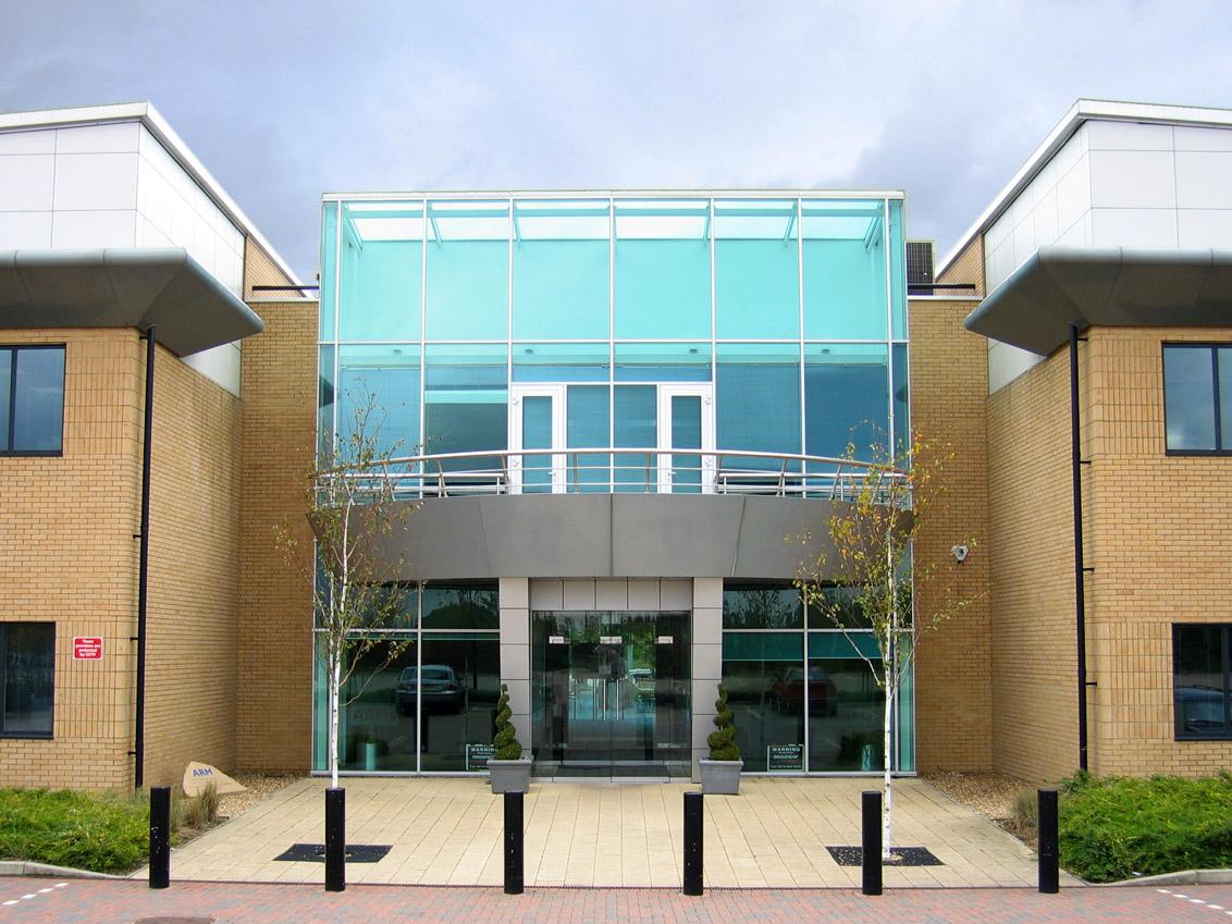 安謀控股公司位於英國劍橋的入口。
