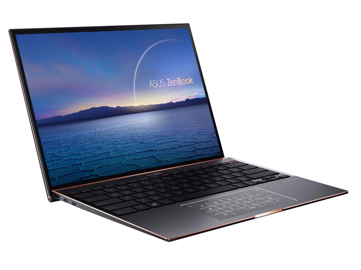 ASUS ZenBook S (UX393)。