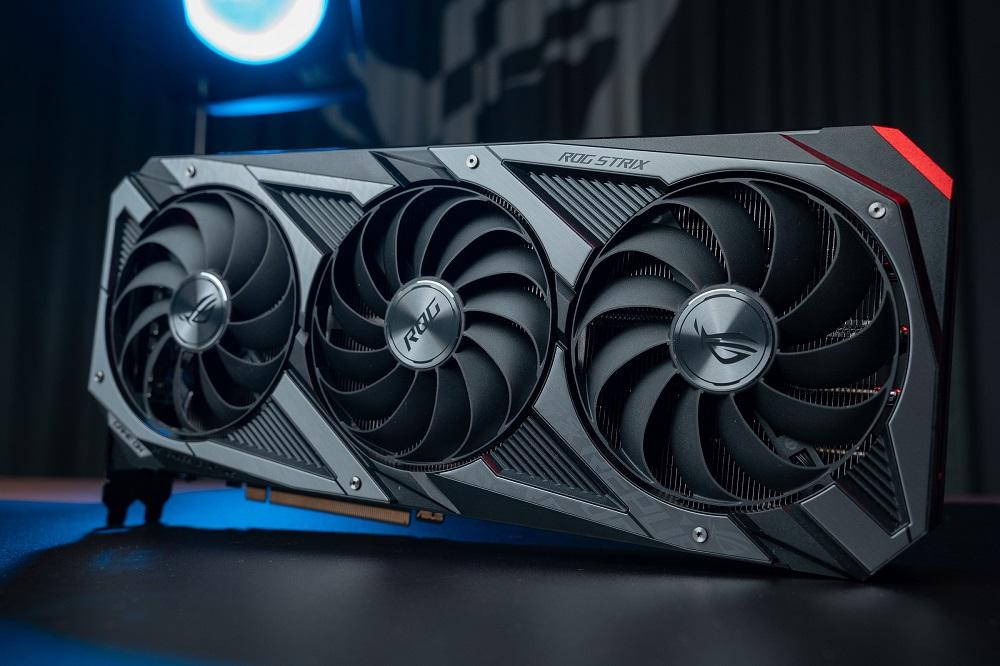 ROG Strix GeForce RTX 30 系列外觀。