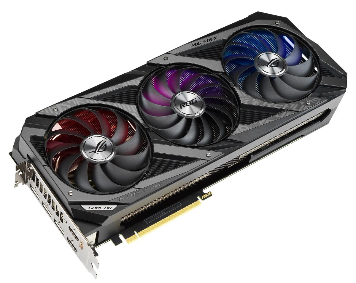 ROG Strix GeForce RTX 3090 顯示卡。
