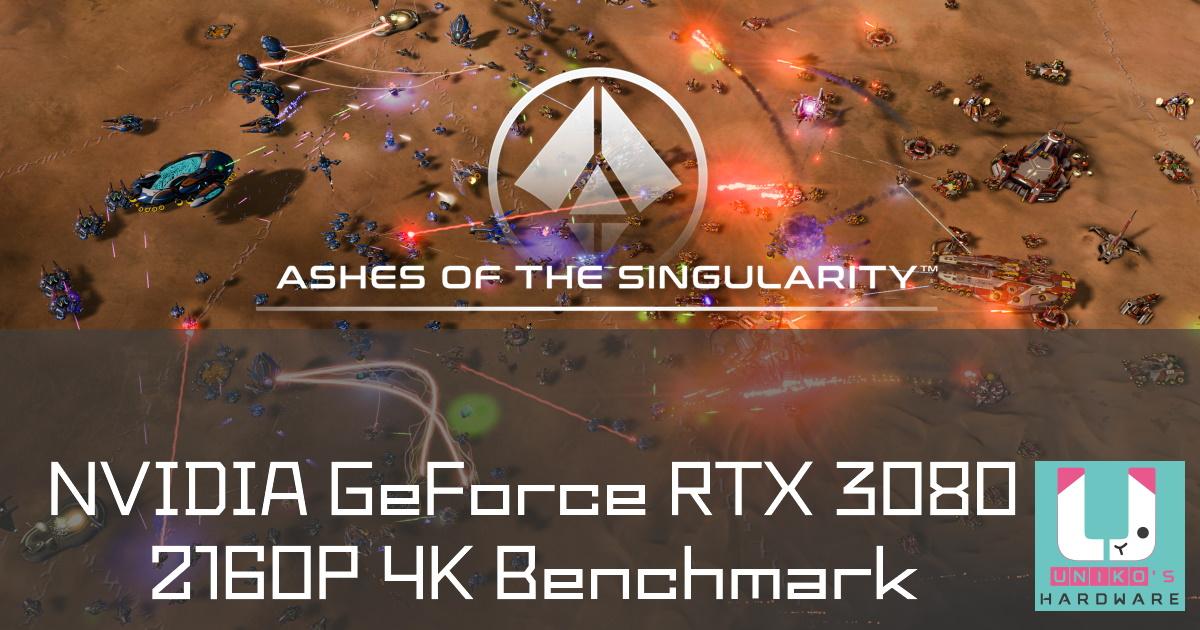 RTX 3080 Ashes of the Singularity 奇點灰燼 Benchmark 分數流出