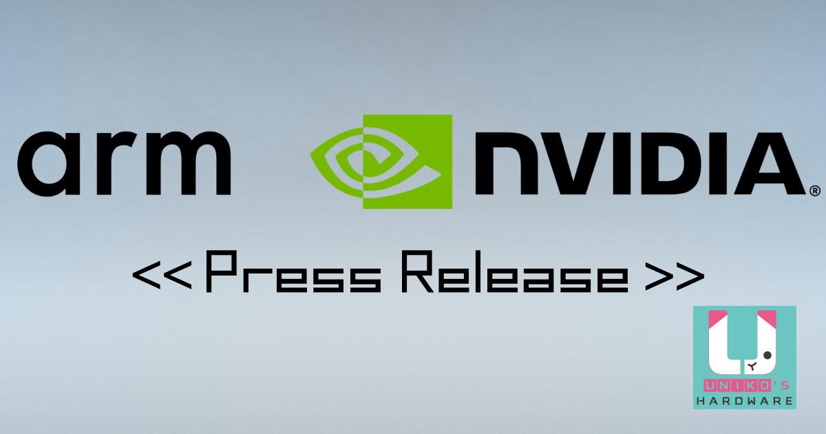 NVIDIA 將斥資 400 億美元收購 Arm 開創人工智慧時代全球首屈一指的運算公司。