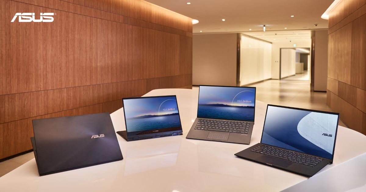 ASUS 發表一系列搭載第 11 代 INTEL CORE 處理器筆電。