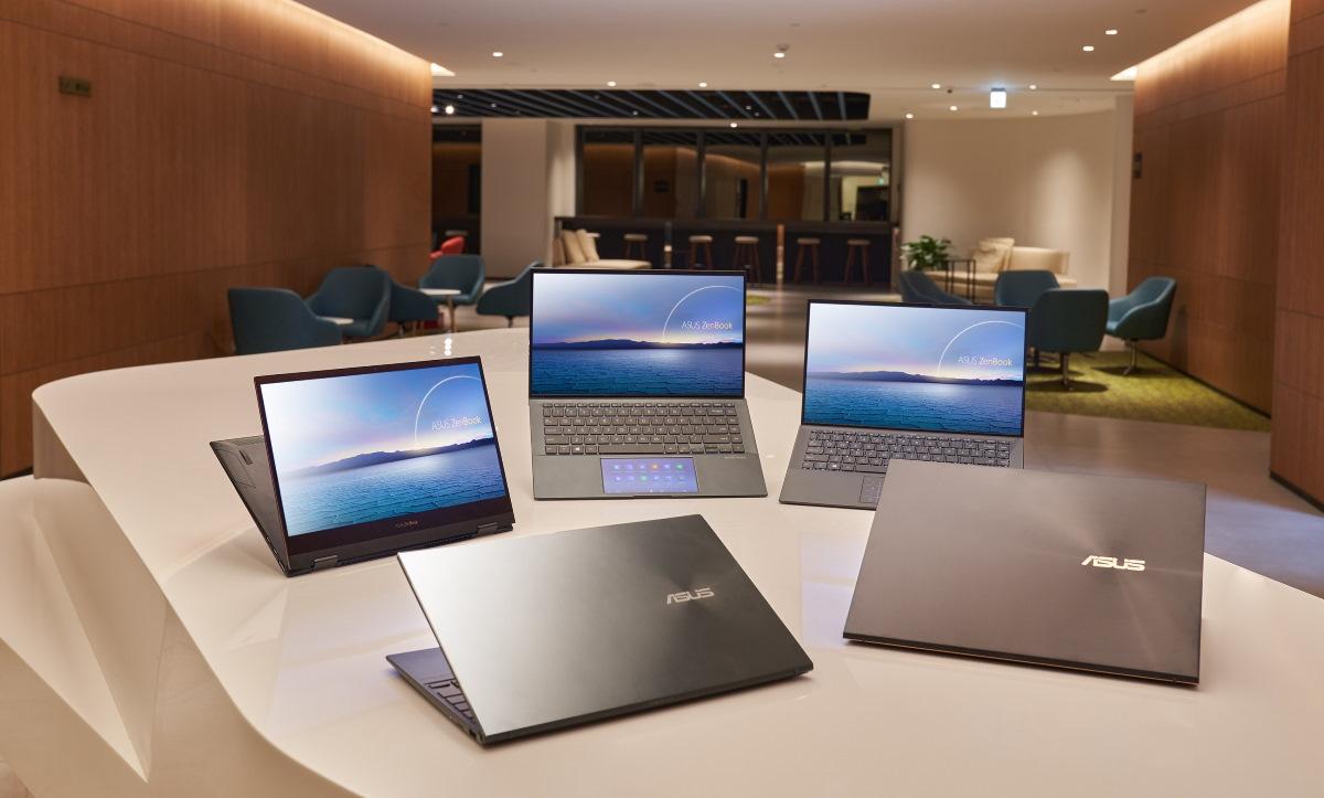 華碩今發表眾多全新升級搭載第 11 代 Intel Core 處理器個人電腦系列產品。