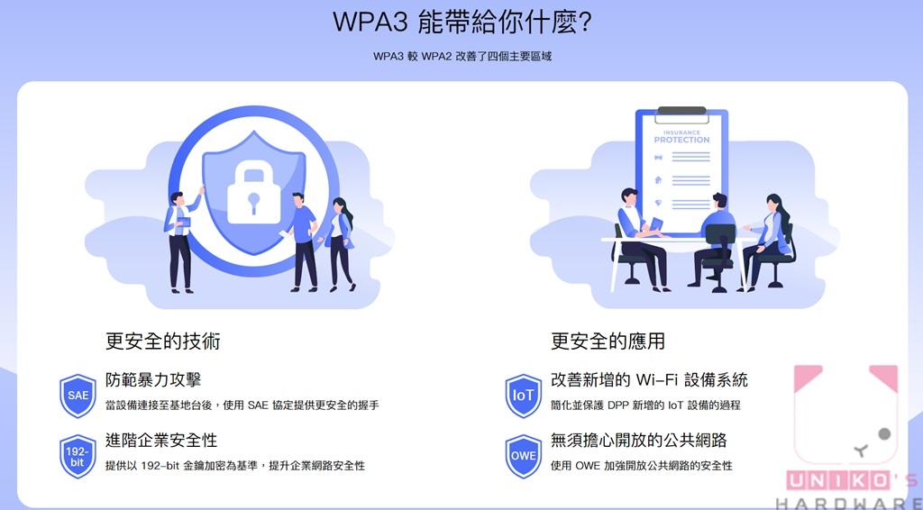 更安全的 WPA3。