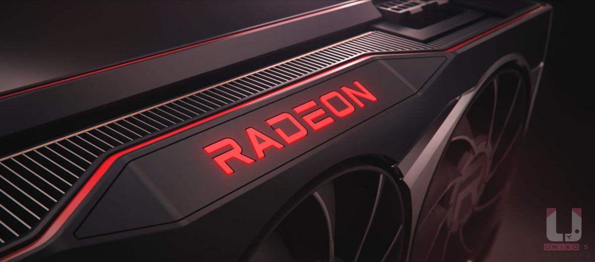 Radeon RX 6000 系列顯示卡。
