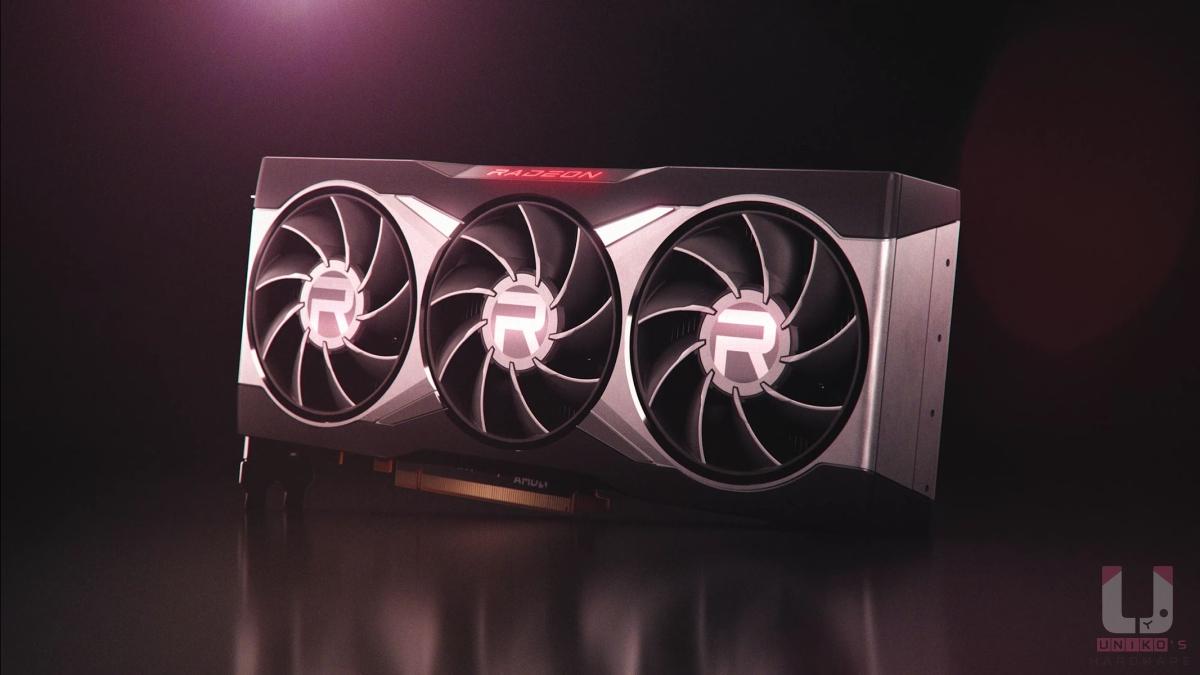 Radeon RX 6000 系列顯示卡公版外觀。