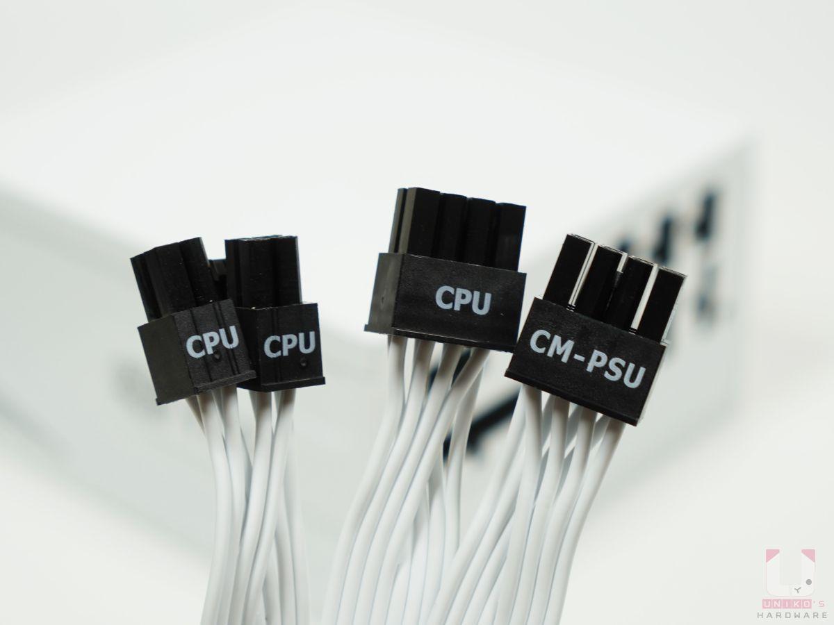 全系列都有雙 8Pin,提供 4+4pin 和 8pin 這兩種。