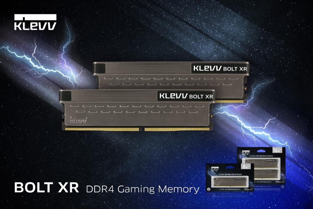 BOLT XR DDR4 電競 / 超頻記憶體。