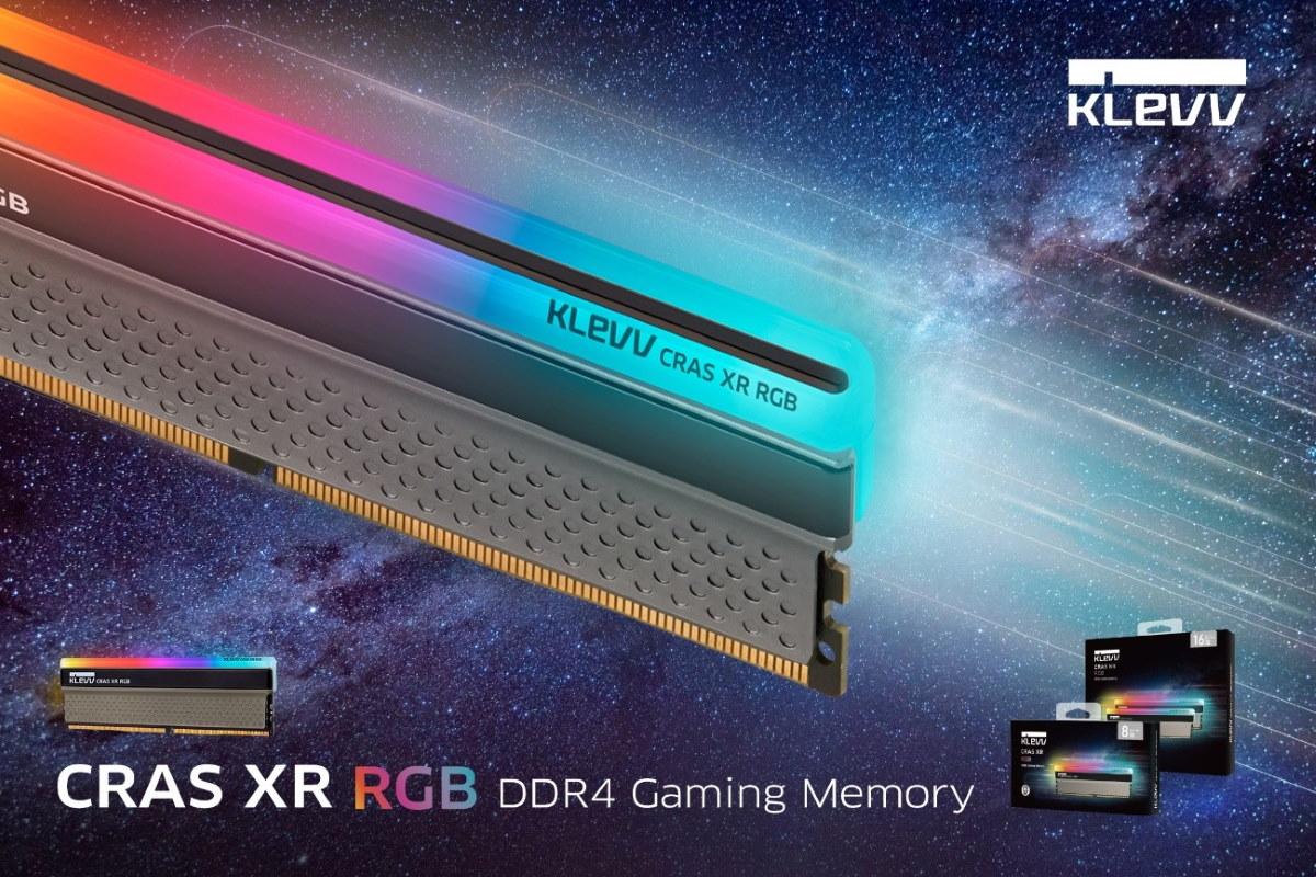CRAS XR RGB DDR4 電競 / 超頻記憶體。