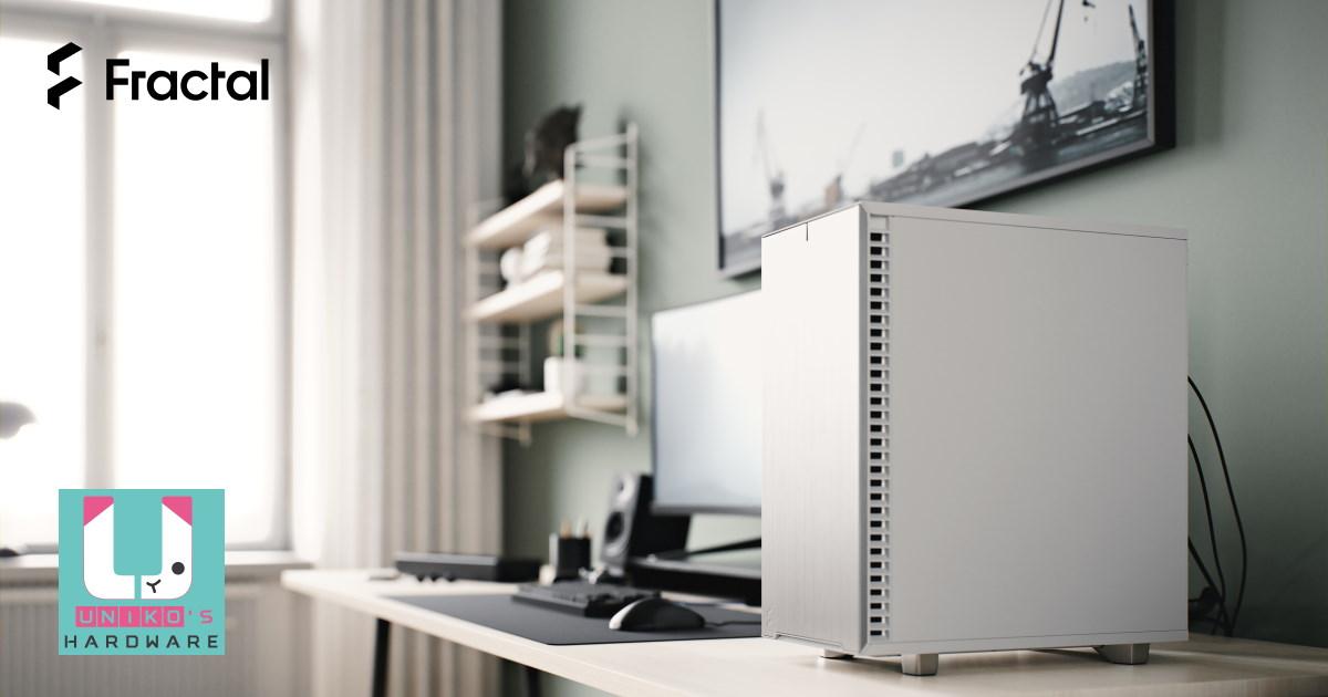 Fractal 推出 Define 7 Compact 極光白系列機殼。