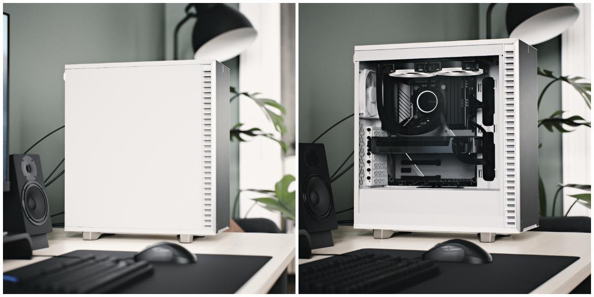 Define 7 Compact 極光白擺放在家裡也可以是個漂亮的家飾。