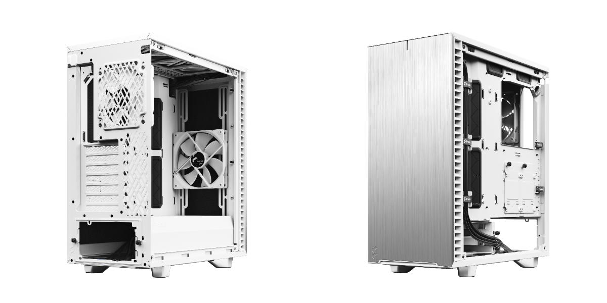 Define 7 Compact 極光白背面與正面。