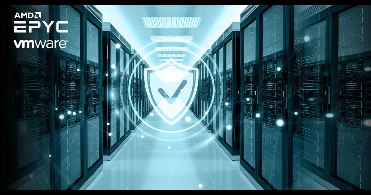 AMD EPYC 處理器為 VMware 客戶提供高效能與先進安全功能。
