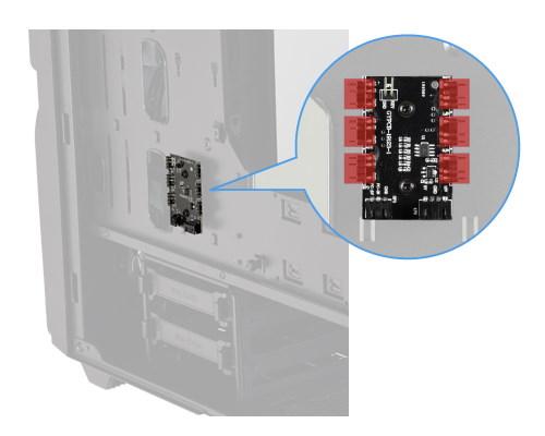 可透過幻彩 RGB 設備擴充,至多同步至 6 個幻彩 RGB 設備。