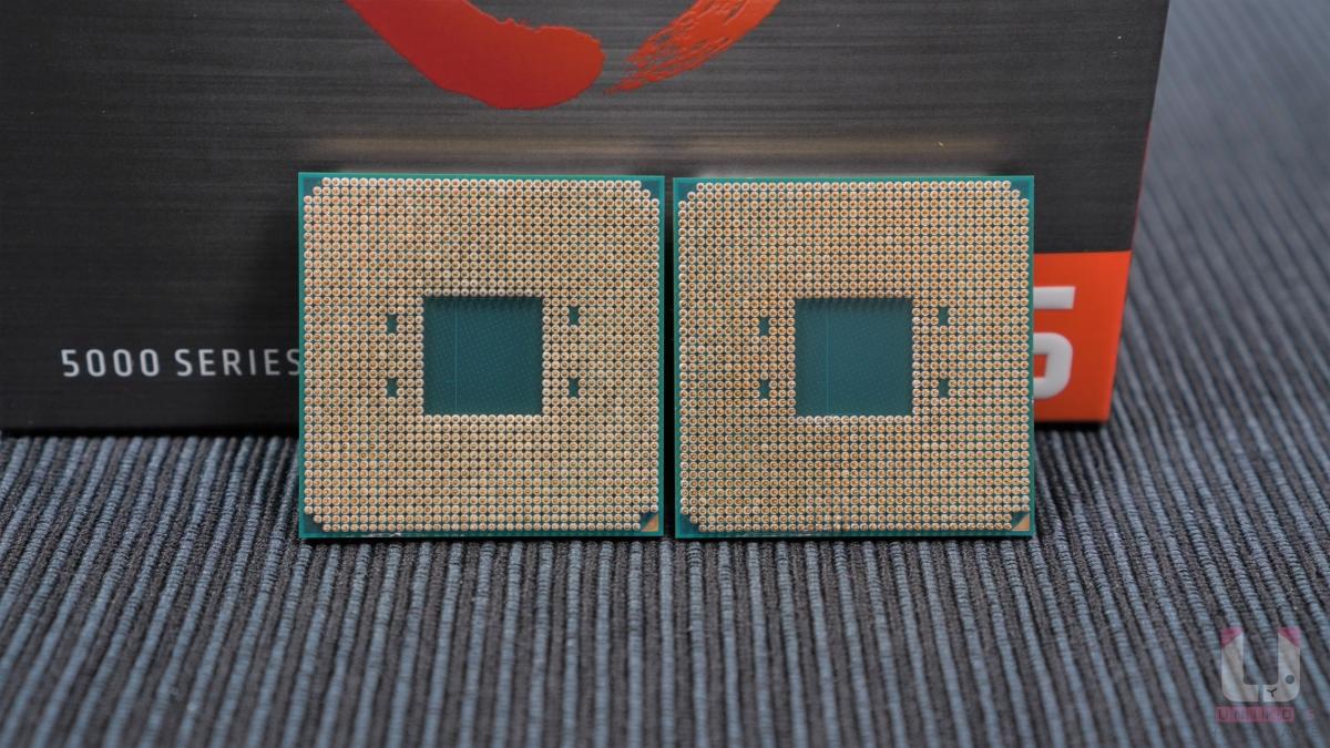 Ryzen 5 5600X 和 Ryzen 9 5900X 都是 1,331 隻針腳,廢話 AM4 不會變。