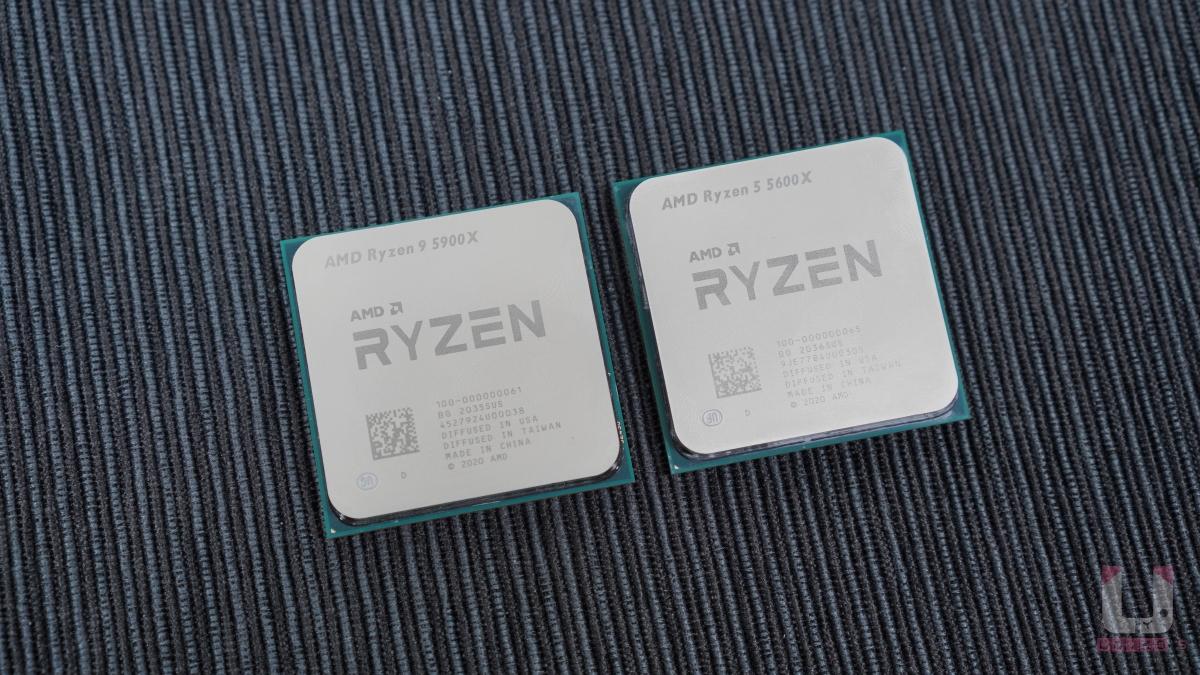 外觀跟 AM4 的 Ryzen 沒有太大差異。