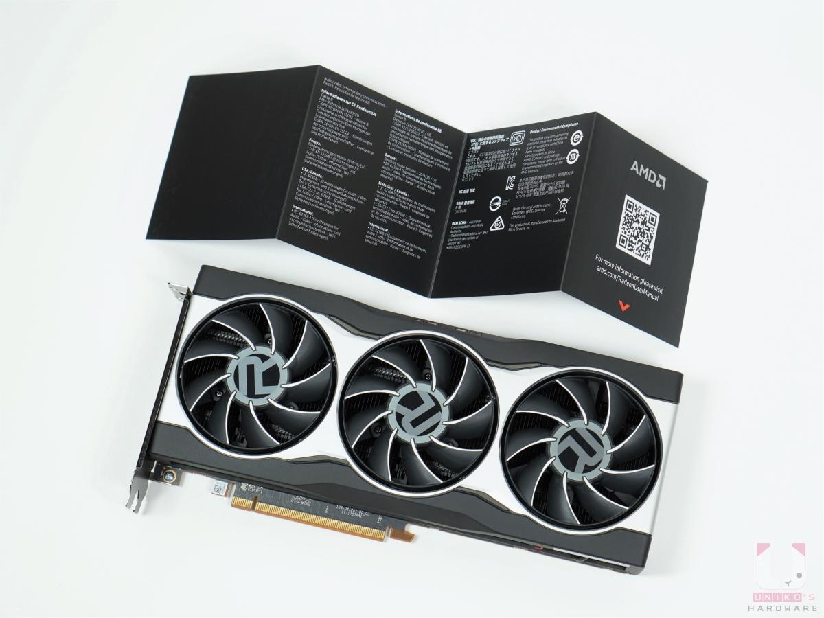 RX 6800 顯示卡一張、快速手冊一張。
