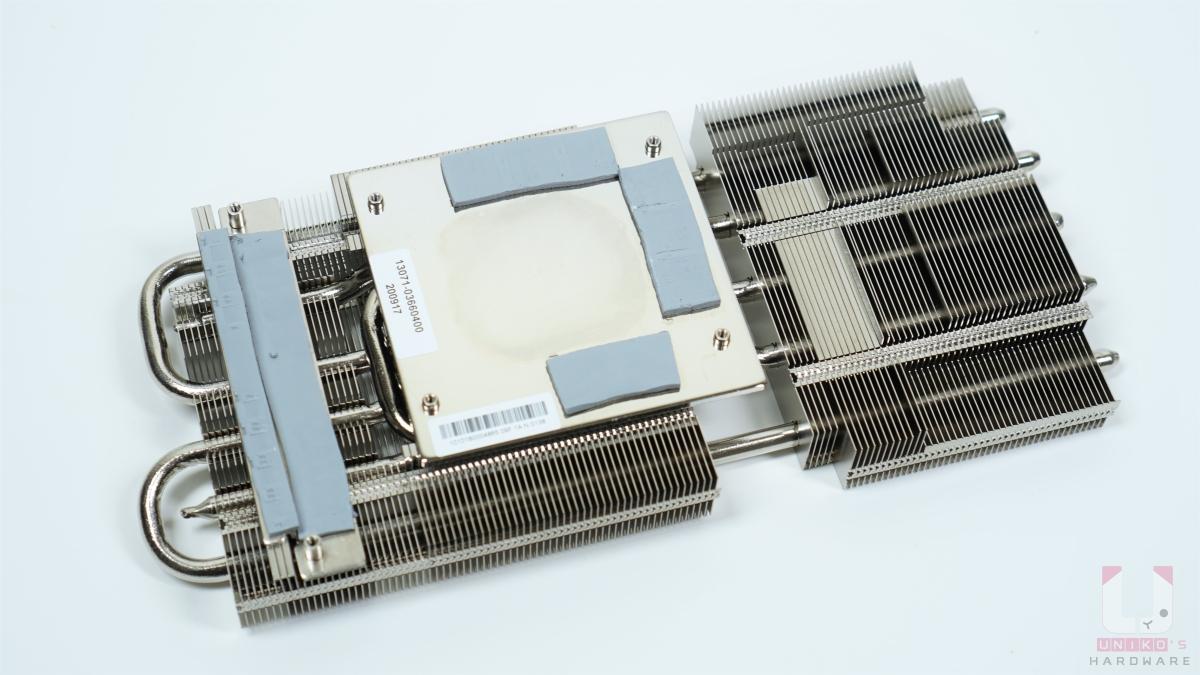 MOS、電感都有確實貼上導熱貼片。