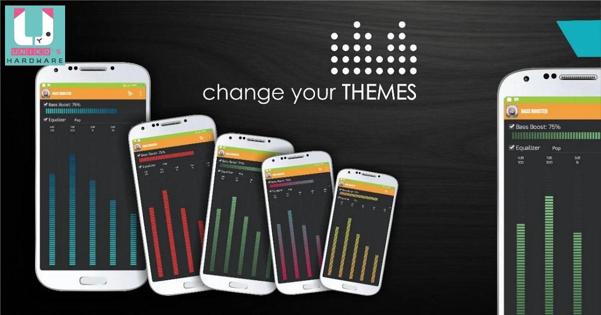增強藍芽耳機低音效果 - AudiosMaxs Equalizer For Bluetooth headset