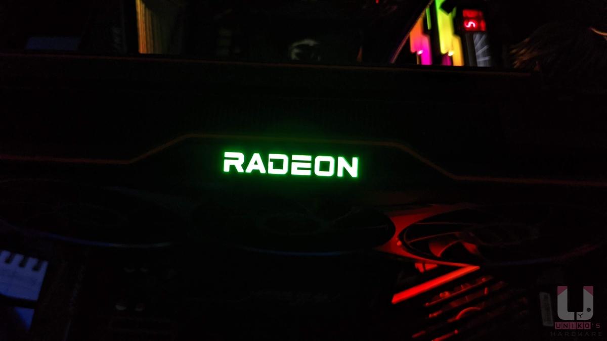 把 Radeon 改成別的顏色也不錯歐。
