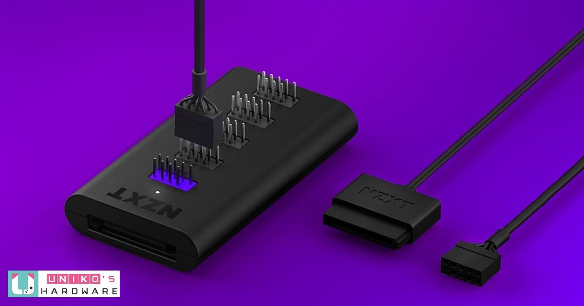 USB 腳座不夠用?來試試 NZXT 新推出的內部 USB 集線器吧