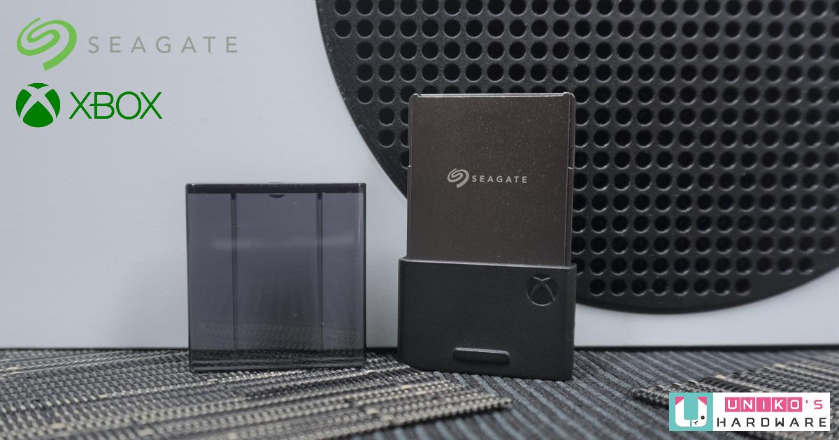 Seagate Storage Expansion Card Xbox Series X S 專用儲存裝置擴充卡評測開箱。