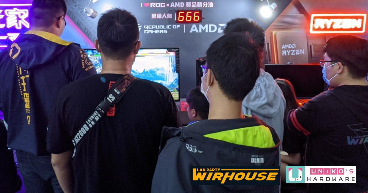 直擊 WirHouse 2020 AMD x ROG 回顧精華篇。