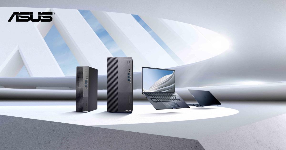 ASUS 華碩 Commercial Desktop 商用桌機/筆電蟬聯市佔第一!