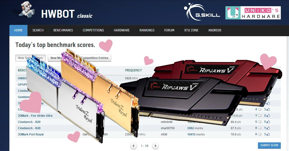 AMD Ryzen Vermeer 超頻玩家都愛用 G.SKILL。