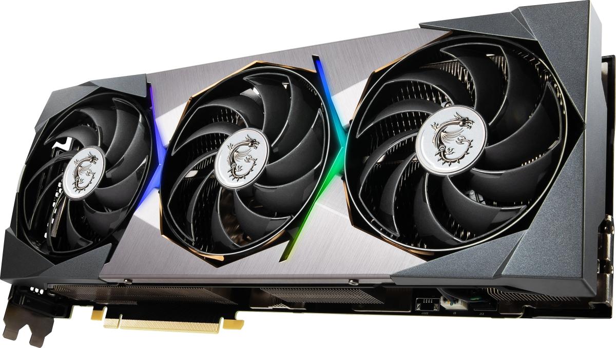 MSI GeForce RTX 3090 SUPRIM X 24G.