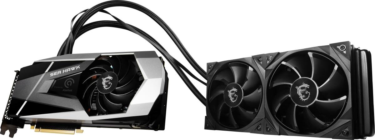 MSI GeForce RTX 3090 SEA HAWK X 24G.