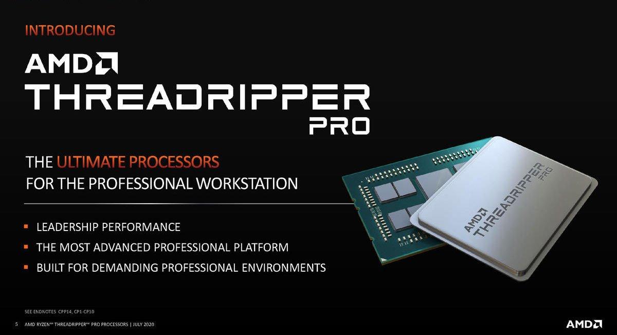 AMD Ryzen Threadripper Pro 是目前世界最強大的處理器。