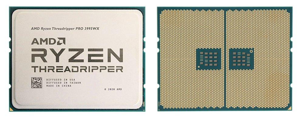 Ryzen Threadripper Pro 3000 照片。